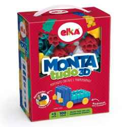 MONTATUDO 3D - 100 PA S - CAIXA