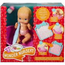 BONECA COM MECANISMO LITTLE MOMMY SURPRESAS MAGICA
