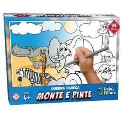 MONTE E PINTE - SAFARI - 24 PCS