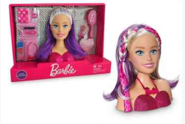 BARBIE STYLING HEAD FACES - PUP BRINQUEDOS