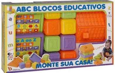 ABC BLOCOS EDUCATIVOS-REF.452