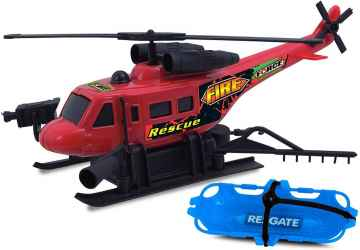 HELICOPTERO C/. FRICCAO FIRE FORCE