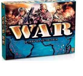 WAR - O JOGO DA ESTRATEGIA