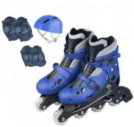 PATINS IN LINE 34-37 AZUL